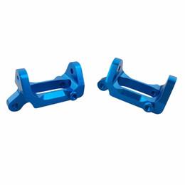 Wholesale Rc Steering Aluminum - 2pcs Aluminum Front Steering Hub Base for 1 18 Wltoys A949 A959 A969 A979 K929 A959-b A969-b A979-b K929-b RC Car spare parts