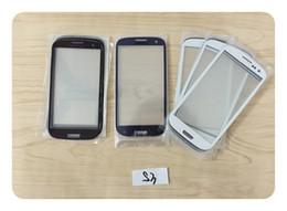 Canada Lentille en verre 5G 5S 5C SE pour Iphone 5 6 6g 6s plus pour Samsung Galaxy S3 S4 S5 mini I9300 I9500 I81190 i9190 LCD Digitizer Screen Écran en verre Offre