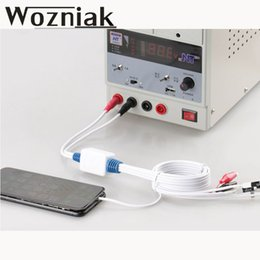Wholesale Power Cable Test - WOZNIAK for iPhone7P 7G 6SP 6S 6P 6G SE 5S 5C 5G power cable battery activation cable Power Supply Current Test Cable