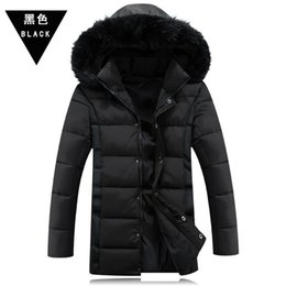 Wholesale Mens Winter Cotton Coat - Fall-Free shiping 2016 Winter Jacket Men Thickening Casual Cotton Jackets Outdoors Windproof Breathable Sport Coat mens coat 1253