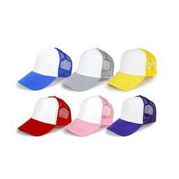 Wholesale Wholesale Personalized Baseball Hats - Fashion Sports Baseball Caps Personalized Custom Logo Print Kids Sun Hat Snapback Adjustable Bone Hollow Travel Cap