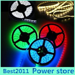 Wholesale Christams Decorations - 5M 300 LED 5050 SMD Waterproof IP65 RGB 60leds m Flexible LED Strip Light For Christams Party