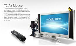 Mini Fly Air Mouse T2 Clavier Souris Android Télécommande Sans Fil 3D Sens Motion Stick ? partir de fabricateur