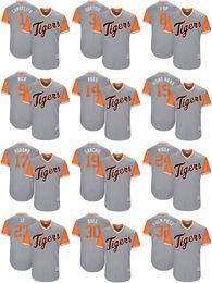 Wholesale Miguel Cabrera Tigers - 2017 Little League World Series Players Weekend Men Lady Kid Tigers Miguel Cabrera Miggy Jose Iglesias Justin Upton Fulmer Baseball Jerseys