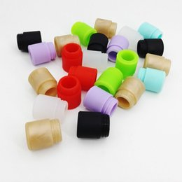 Wholesale Bear Packing - 810 Wide Bore Silicone Disposable Drip Tip Colorful Mouthpiece Cover Rubber Test Caps with individual pack for TFV12 TFV8 big baby