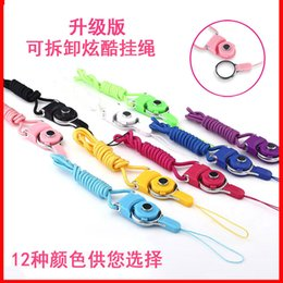 Wholesale Chain Certificates - Hang rope manufacturer wholesale customized nylon woven rotating seal certificate key chain hanging neck Mobile phone hang rope