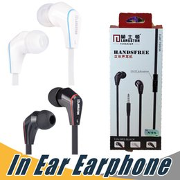 Wholesale Cancelling Canceling - For iPhone Earphone Langsdom JM12 Earbuds Nosie Canceling Heaset with Mic For Samsung Cell Phone