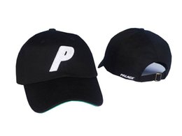 Wholesale Caps Skateboards - Skateboards 6 Panel P Palace Cap Hat Wizard Gandalf Stone Stadium Parrot Bronze Baseball Cap Men Snapback Cap Bone Casquette
