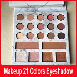 Wholesale Size 21 - 1pcs 21 color eyeshadow ball, matte, black eye shadow, Edition 21 color eye shadow high compact