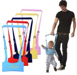 Wholesale baby assistant - Infant Walking Belt Adjustable Strap Leashes Baby Learning Walking Assistant Toddler Safety Harness Protection Belt free shipping