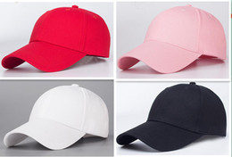 Wholesale Dong Man - Qiu dong the day hat Pure color cotton men women high quality light body baseball cap curved eaves plate cap cap