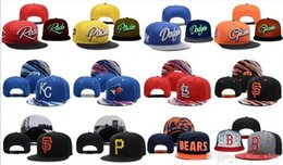 Wholesale Snapback Mix - Hot New Men's Women's Basketball Snapback Baseball Snapbacks All Teams Football Hats Mens Flat Caps Adjustable Cap Sports Hat mix order