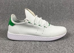Wholesale C Grey - 2017 New Arrival stan smith Pharrell Williams Tennis HU 3D Primeknit Running Shoes Fashion Women men PW Human Race NMD Sneakers Size 36-45