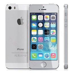 "Wholesale I5s Unlock - Original Apple iPhone 5S Unlocked iPhone 5S i5S Dual Core 16GB 32GB 4.0""IPS A7 iOS 8 3G 8MP WIFI Cellphone Refurbished"