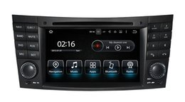 Wholesale Dvd E Gps - Android7.1 Two Din 7 Inch Car DVD Player For Mercedes Benz E-Class W211 E300 CLK W209 CLS W219 G-Class W463 Canbus Radio GPS Navigation FM