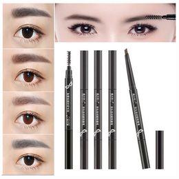 5 Couleurs Peinture Sourcils Crayon Enhancer Maquillage Outils Eye Brow Stylo Imperméable Cosmétiques Eye Sourcils Crayon Brosse Beauté Essentials ? partir de fabricateur