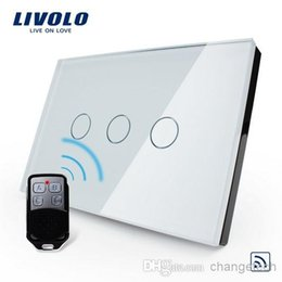 Wholesale Touch Screen Light Switches - ValueBox, Free Combination US AU Standard,VL-C303R-81VL-RMT-02,Crystal Waterproof Glass Touch Screen Light Switch&Mini Remote