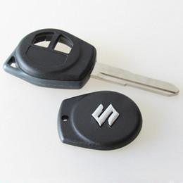 Wholesale Remote Key Suzuki - 2 Button Remote Key Case FOB Shell Fit for SUZUKI GRAND VITARA SWIFT IGNIS Key Shell for SUZUKI