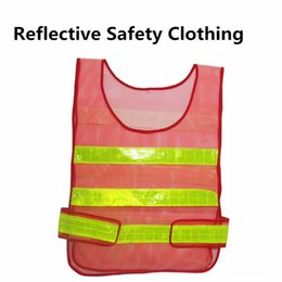 Wholesale Traffic Vests - New design Visibility Reflective Safety Vest Coat Sanitation Vest Traffic Safety warning clothes vest Safety working waistcoat cloth A0239