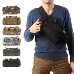 Wholesale hiking backpack camera - 3L Outdoor Military Tactical backpack Molle Assault SLR Cameras Backpack Luggage Duffle Travel Camping Hiking Shoulder Bag 3 use
