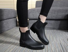 Wholesale Pvc Wellies - Factory Outlets women rain boots Waterproof boots wellies over knee women shoes boots Glossy & matte size 34-43