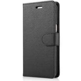 samsung flip billetera para galaxy j7 Rebajas Cartera de cuero de lujo caso del tirón del caso de la tarjeta para Samsung Galaxy J7 2015 Samsung J5 J327 J3 Prime J3 Emerge 2017 J2 Case J1