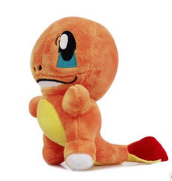 Wholesale Toys Dinosaurs Dragon - Dinosaur cartoon toys 2016 chldren Japanese anime Plush dolls toys 15-20cm kids boys Pikachu Jeni turtle small fire dragon toys