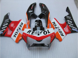 Wholesale Honda Cbr Gifts - 3 free gifts New ABS Motorcycle Fairing KIT for HONDA CBR900RR 919 98 99 CBR 900RR 1998 1999 CBR900 Orange Red T5