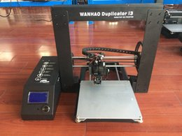 Wholesale 3d Printer Lcd - Wanhao Duplicator I3 V2.1 3D Printer with LCD SD-card and tools for FREE!