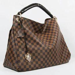 Wholesale Genuine Leather Crossbody Bags - Free shipping Top quality genuine real leather women's handbag pochette Metis shoulder bags crossbody bags messenger handbags purse L2588V