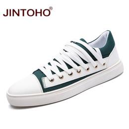 Wholesale Cheap Footwear China - JINTOHO 2017 Fashion Casual Men Shoes Brand Men Leisure Shoes Designer Male Flats Cheap China Shoes Casual Men Shose Footwear