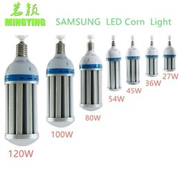 Wholesale E27 54w - MINGYING LED Corn Light Bulb E26 E27 E39 E40 18W 27W 36W 45W 54W 80W 100W 120W Garden Warehouse parking lot lighting