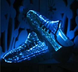 Wholesale Led Lights Shoelace - Waterproof Light Up LED Shoe Fashion Flash Disco Party Glowing Night Sports Shoe Laces Strings Multicolors Luminous