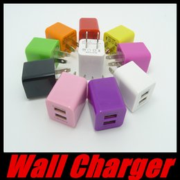 Wholesale Manufacturer Tablets - Manufacturers Supply Dual USB Charging Head Square Tablet Phone Charger 3.1A Wall Chargers For iPhone iPad Samsung HTC Wholesale