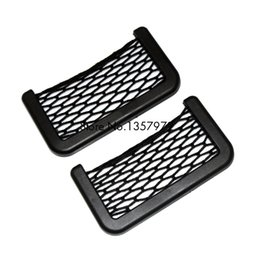 Wholesale Audi A4 B6 Seats - Car Seat Side Back Storage Net Bag For Audi A4 B6 A3 A6 C5 Q7 A1 A5 A7 A8 Q5 R8 TT S5 S6 S7 S8 SQ5