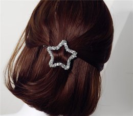 2017 pinces à cheveux rondes Star triangle rond en cristal chaton épingle à cheveux épaule en épingle épingle SP44 pince à cheveux abordable pinces à cheveux rondes