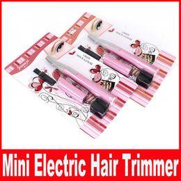Wholesale Hair Electric Shaver - Powered By Battery Mini Ladies Electric Epilator Body Bikini Hair Trimmer Eyebrow Leg Hair Shaver for Women