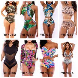 Wholesale Bikini Tanga Swimwear - Brazilian Bikini Bottoms Swimsuit Women's bottom trikini brazilian tanga bikini panty underwear Bathing Suits Floral Swimwear