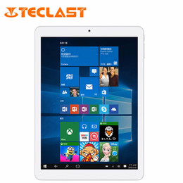 Wholesale Quad Core Android Tablet Pc - 9.7 inch Tablet PC Teclast X98 Plus II IPS Retina Dual Boot Windows 10 + Android 5.1 Intel Z8350 Quad Core 64GB