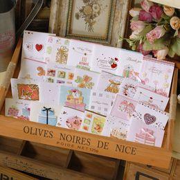 Canada Mini cartes de fête heureuse faites à la main avec l'enveloppe, les petites cartes de voeux pour enfants mignonnes supplier envelope kids Offre