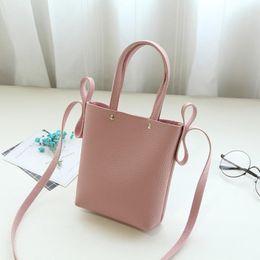 Wholesale Girl S Handbags - 2017 fashion small casual shoulder bag cross-body bag mini women\'s girls handbag pu leather women messenger bags