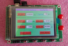 Wholesale Stm32 Tft - Wholesale-ADF4351 module TFT color touch screen STM32 sweep frequency signal source Signal Generators