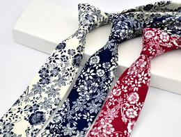 Wholesale Wool Men S Ties - Men 's Ties Cotton Print Europe and the United States fashion style Korean casual tie wedding tie groom groomsman tie