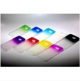 Wholesale S3 Case Raindrop - Crystal Gradient RainDrop Hard PC Case for iPhone 4 5 5C 6 4.7'' Plus 5 Samsung Galaxy S6 S3 HTC ONE M9 M8 3D Rain Drop Clear Plastic Cover