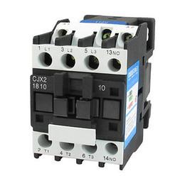 Wholesale 35mm Din Rail - Wholesale-CJX2-1810 35mm DIN Rail Mount AC Contactor 3 Pole One NO 110V Coil 32A