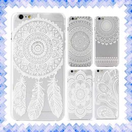 Wholesale Iphone Leather Floral - Sunflower Style Floral Lace Lovely Protective Sleeve Phone Case Cover For iPhone 6 6s plus 4.7 inch 01