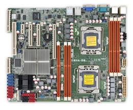 Wholesale Ddr3 32 - For Asus Z8NA-D6 Used Server Desktop Motherboard 5500 Socket LGA 1366 i7 DDR3 32 48G SATA2 ATX