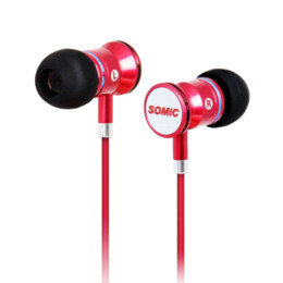 Wholesale Somic Headset Usb - Somic MH405 In-ear Earphone Sport Headset With Mic Super Bass Music for PC Mobile Phone Android PS3 PS4