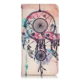 Wholesale Sexy Girl Iphone Cases - Dreamcatcher Bear Flower Flip Cover Wallet Leather Butterfly Dandelion Sexy Girl Cartoon Case For Iphone 7   Iphone7 Plus For LG LS775 K7 K4