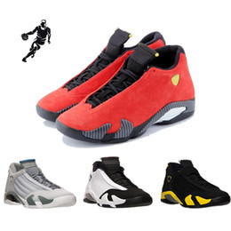 Wholesale Fusion Sports - 2018 high Quality 14 basketball shoes for Man Black Red Fusion Purple 14 Playoffs Sneakers sports shoes Eur 41-47